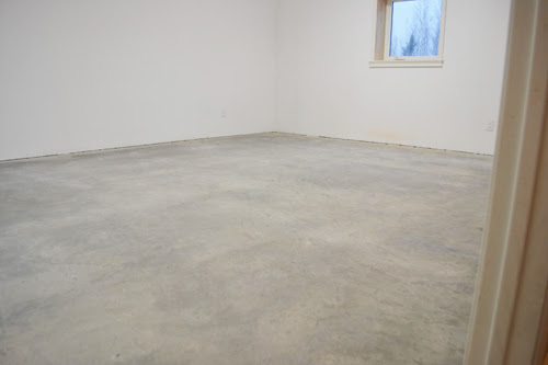 Someday this blank space is going to be Grandmau0027s dream sewing room. It may take months maybe even be a year before we get to it but weu0027ve got big plans ... & Basement Floor Epoxy Coating | Ana White Woodworking Projects