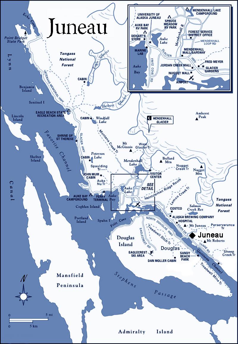 juneau alaska map bnhspinecom