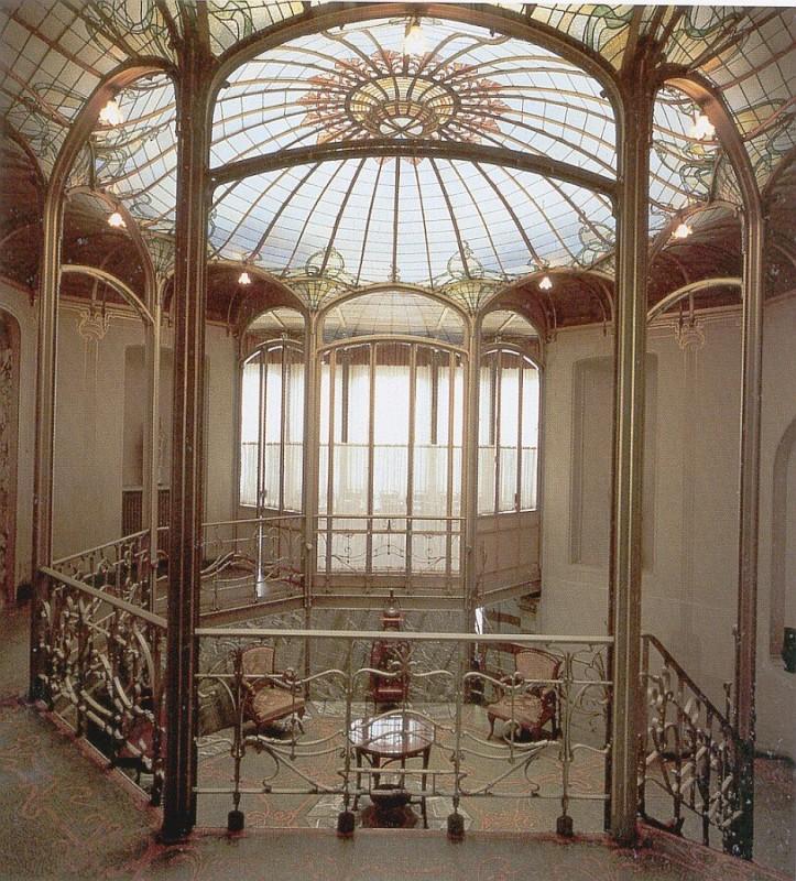 Bonjour bruxelles swirly art nouveau victor horta for Casa home belgique