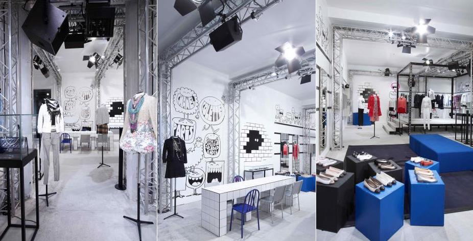 faux real fashion chanel x colette pop up store paris. Black Bedroom Furniture Sets. Home Design Ideas