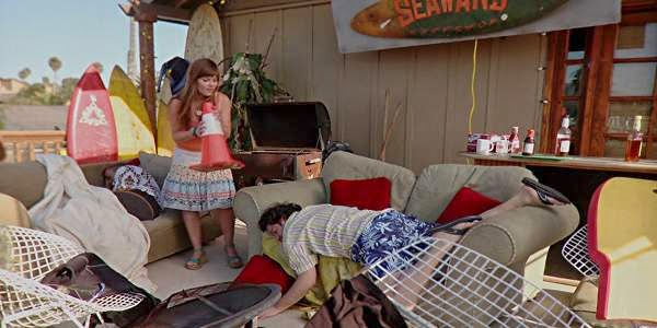Screen Shot Of Hollywood Movie National Lampoon Presents Surf Party (2013) Download And Watch Online Free at Alldownloads4u.Com