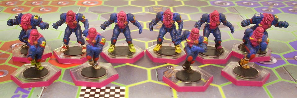 Dreadball Club Parchelona (equipo humano) DB001