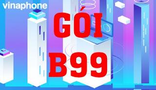 Nhận Miễn phí Gọi nội mạng, 30 phút ngoại mạng, Data gói B99 Vinaphone