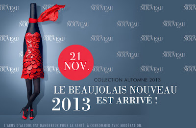 Wine drinkers toast to 2013 Beaujolais Nouveau