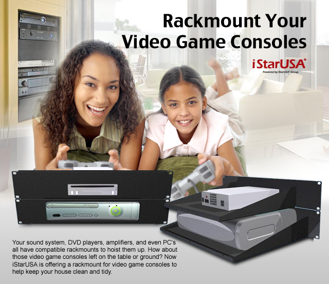 Rackmount Your Video Game Consoles