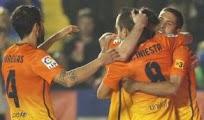Goles Levante Barcelona Video Messi Iniesta