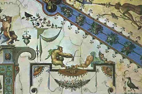 Girovagando pittura grottesca - Decorazioni grottesche ...