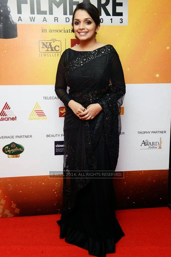 Ann Augustine during the 61st Idea Filmfare Awards South, held at Jawaharlal Nehru Stadium in Chennai, on July 12, 2014.