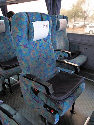 阪急バス「よさこい号」昼行便 05-2888 シート