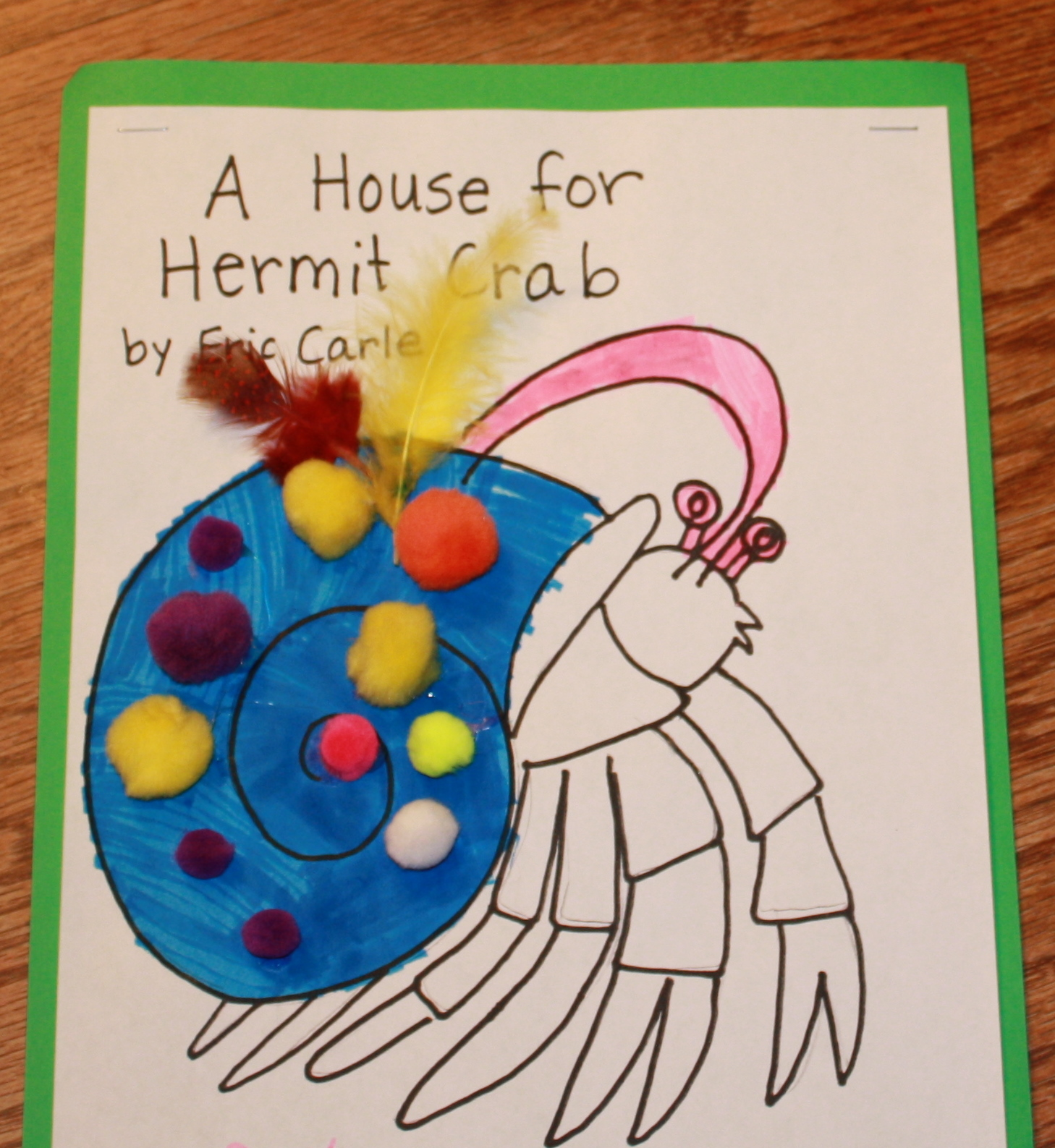 Mama Hen and the Chicks: Eric Carle--March Read-Along