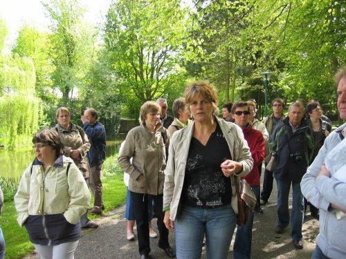 Bezoek aan het park van Diksmuide