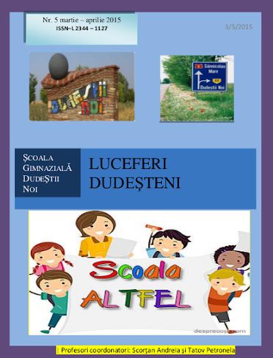 ed5 (PRINT - gimnaziu) luceferi dudesteni_ŞCOALA GIMNAZIALĂ__DUDEŞTII NOI_TIMIŞ