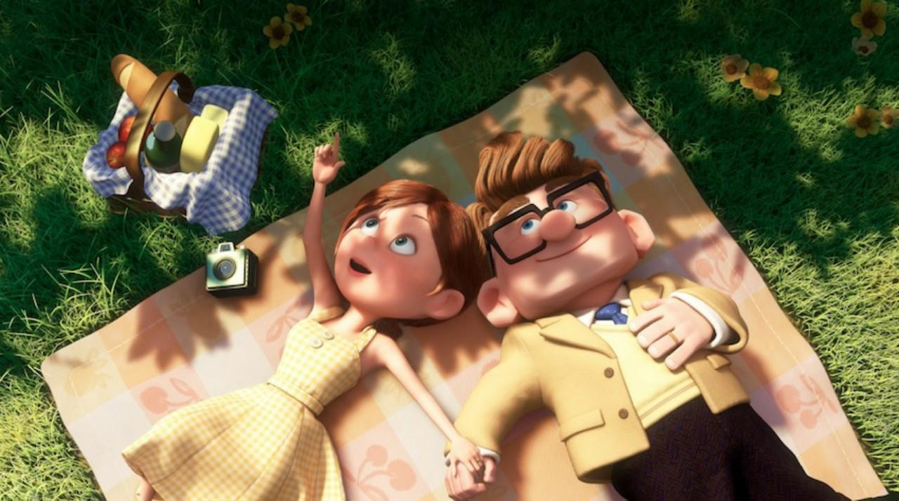 Ellie and Carl – the love of her life
