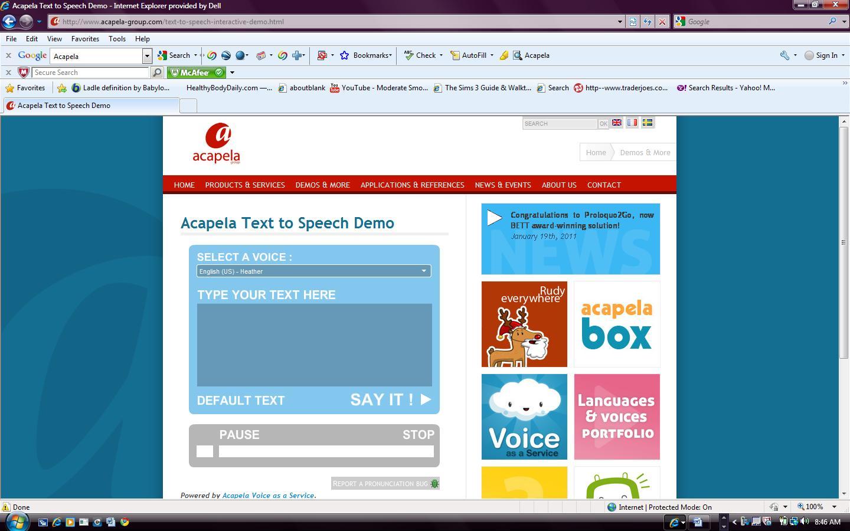 Acapela tts for windows download