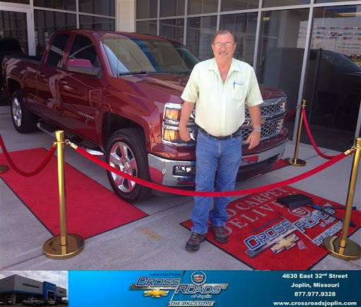 Congratulations to Jc Harrell on your #Chevrolet #Silverado 1500 purchase from Phillip Burnette at Crossroads Chevrolet Cadillac! #NewCar.jpg