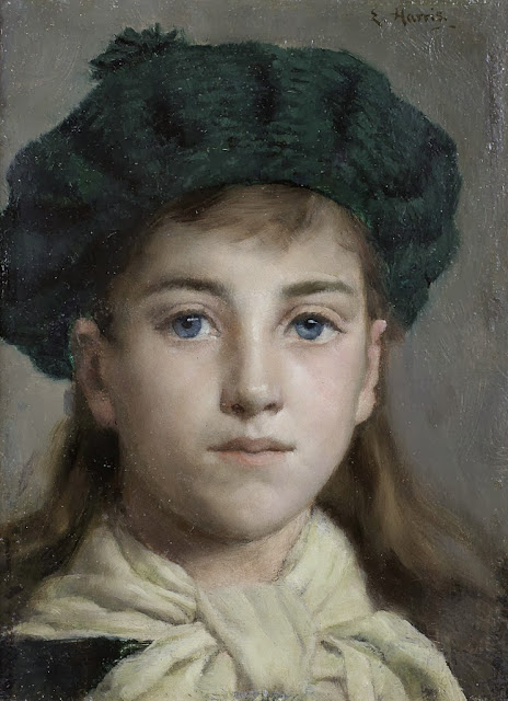 Edwin Harris - Portrait of a girl