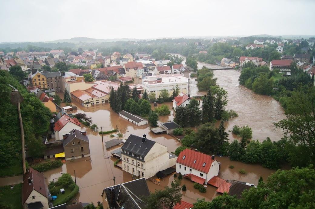 Hochwasser in Colditz