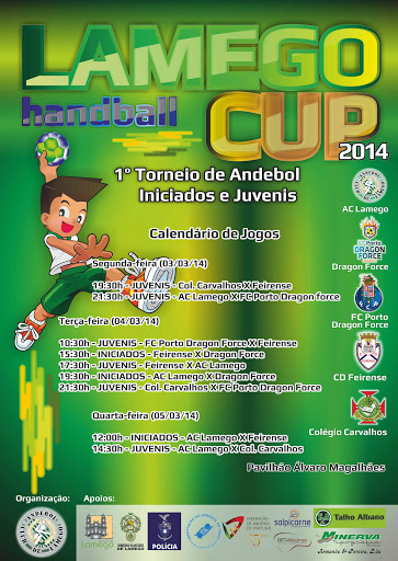 Cartaz Oficial do Lamego HANDBALL CUP 2014