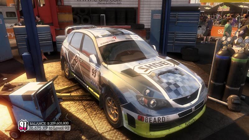 รายการรถกลุ่ม Rally ใน DiRT2 Sti-04