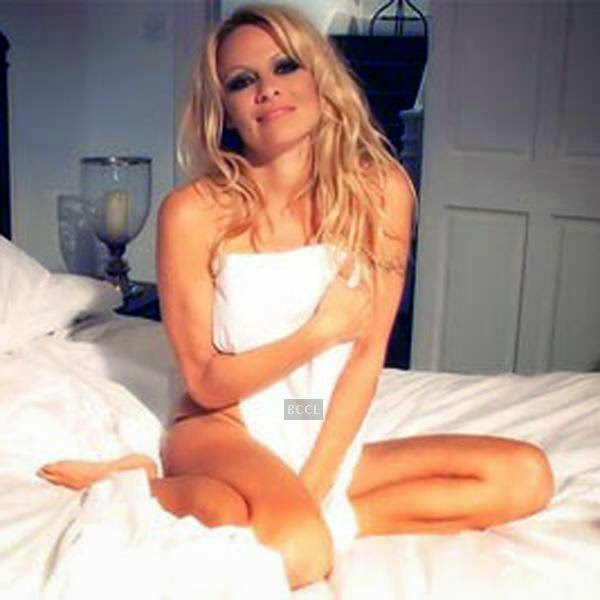 Hollywood's busty babe Pamela Anderson's 'Wake Up With Sexy Pam' is one of the most-watched showbiz videos, reported a top-notch magazine.