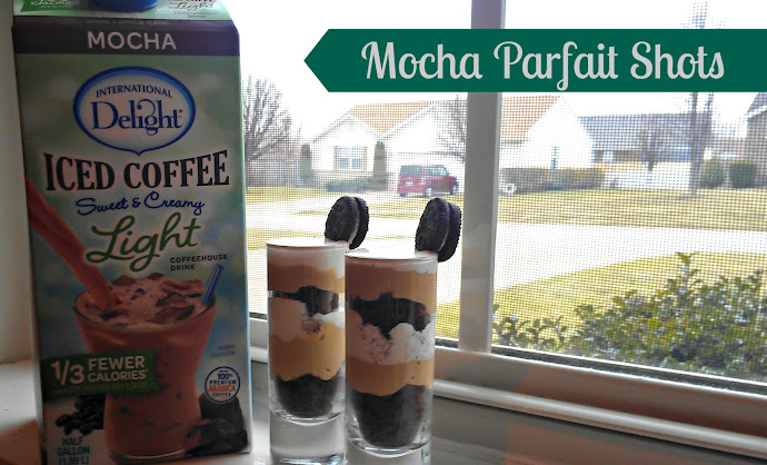 Iced Coffee Recipe: Mocha Parfait Shots