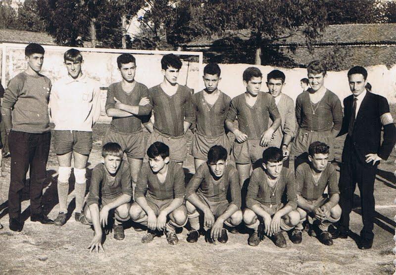 A.D.R. Numancia de Ares. Octubre 1964.