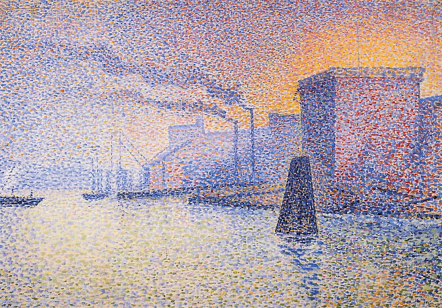 Georges Lemmen - Factories on the Thames