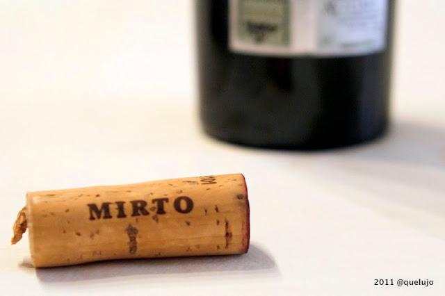 Vino tinto Mirto 2006, Bodegas Ramón Bilbao (D.O. Ca Rioja)