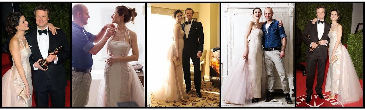 Livia Firth Oscar dress 2011 by Gary Harvey