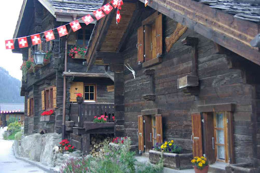 Vieilles maisons de Zinal