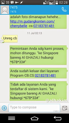 SMS pencuri pulsa 7475