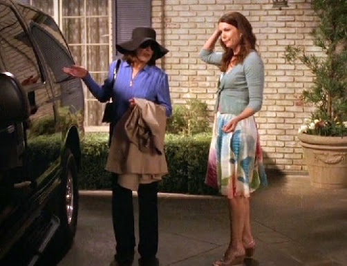 driving miss gilmore...