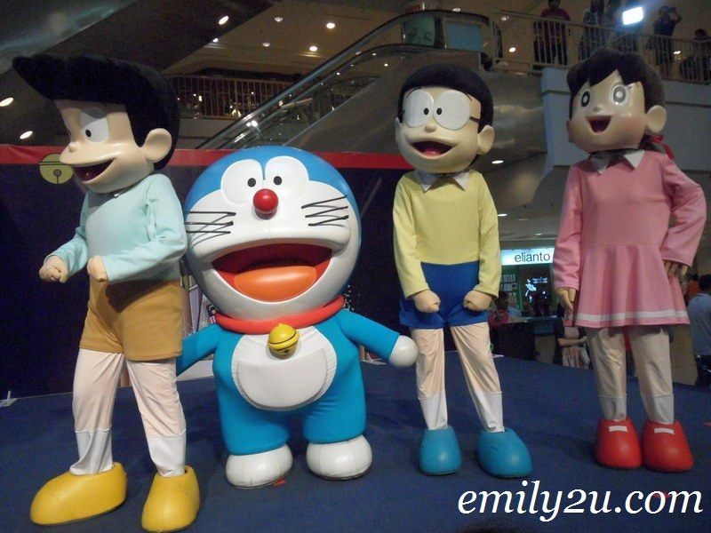 Doraemon & friends in Ipoh