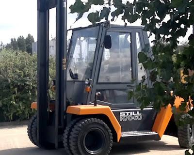 Xe nâng 6 - 7 tấn cũ Still