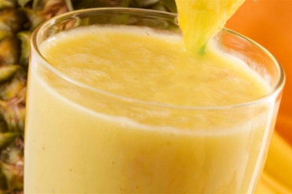 Creme de Abacaxi com Iogurte