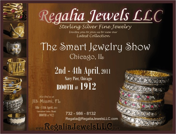 Regalia Jewels At The Smart Jewelry Show Chicago Navy Pier