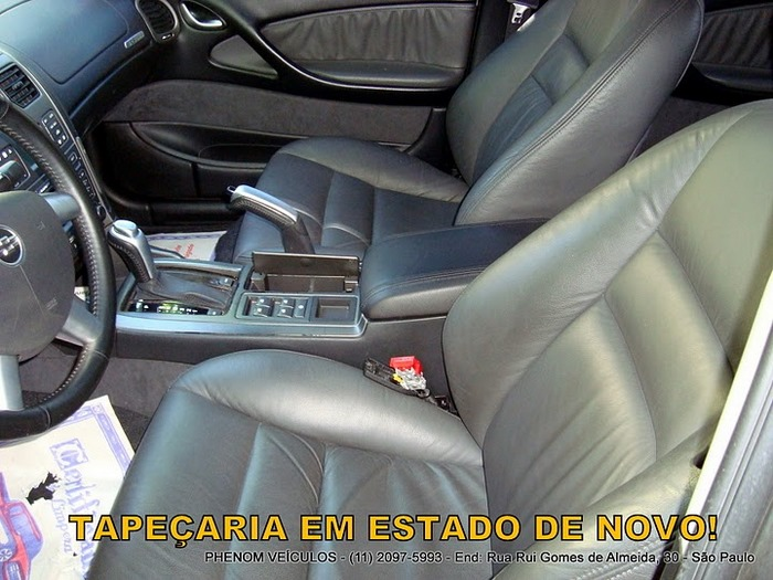 Chevrolet Omega 2004 Blindado - Interior