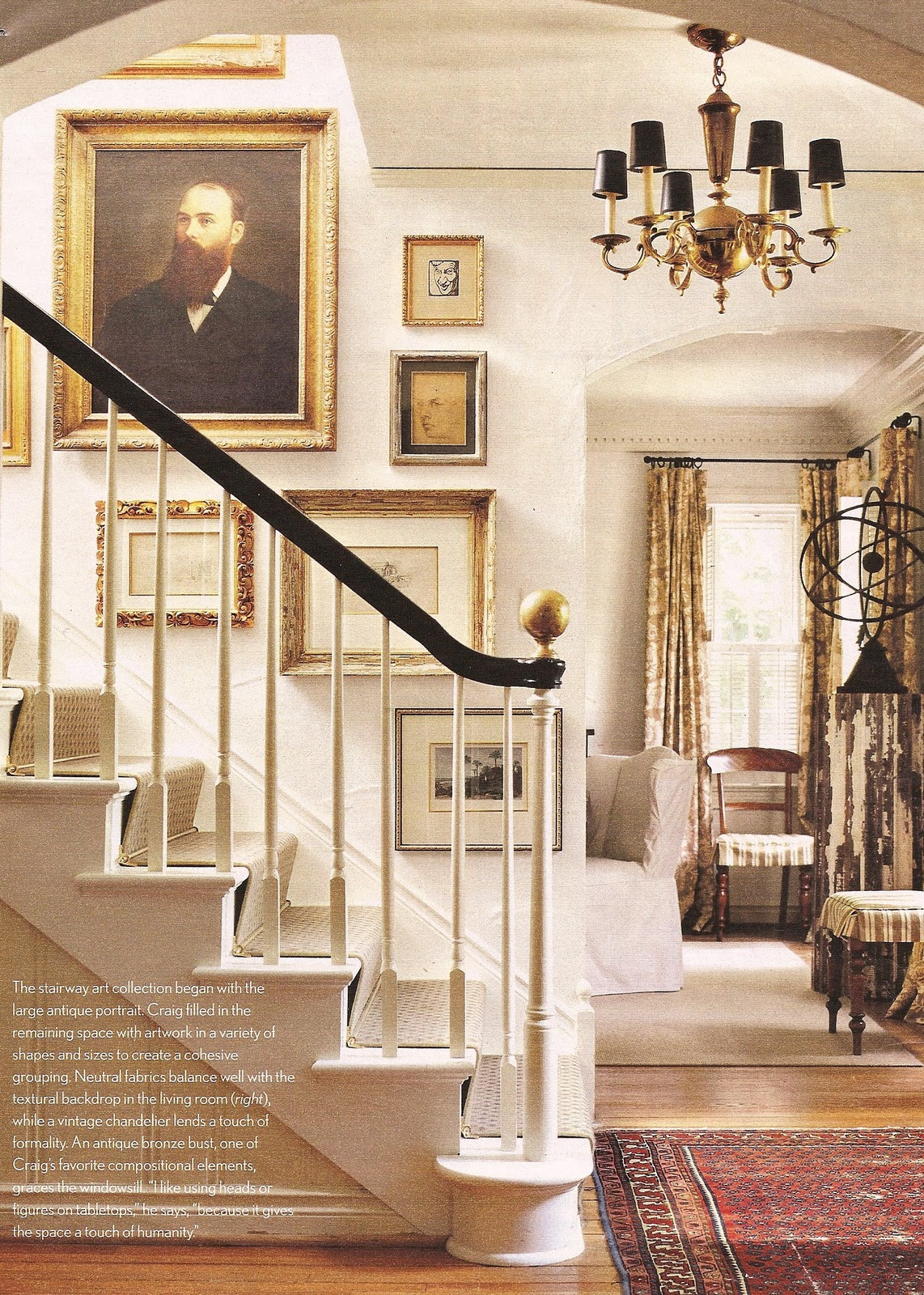 Foyer Stairs Review : Acanthus and acorn stair runners a review of both types