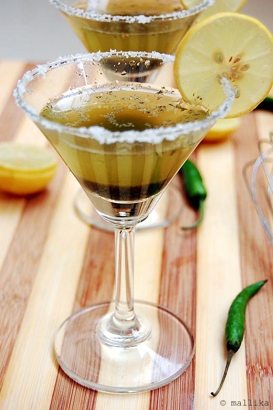 Lemon Mint Spiced Drink