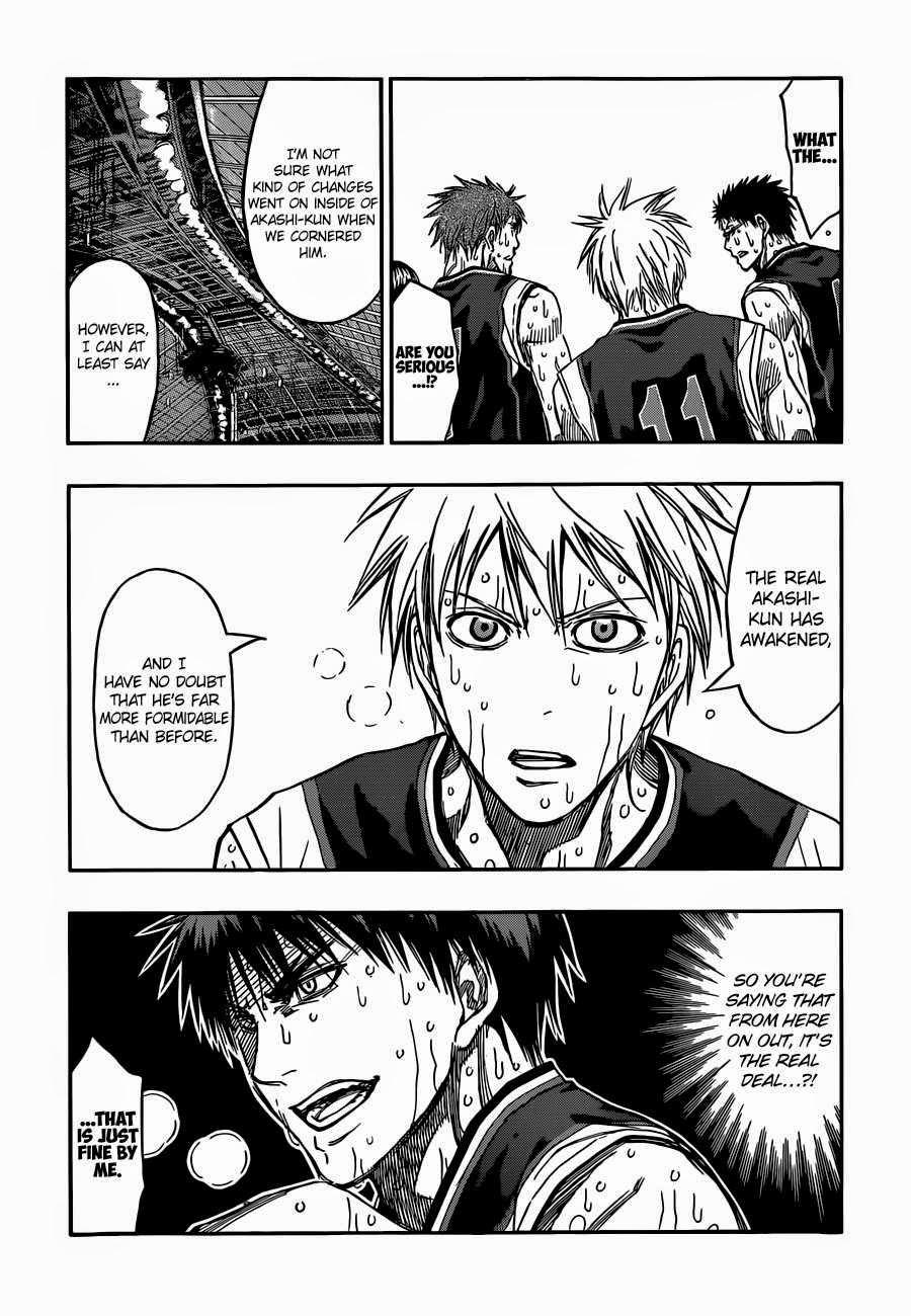 Kuroko no Basket Manga Chapter 267 - Image 12