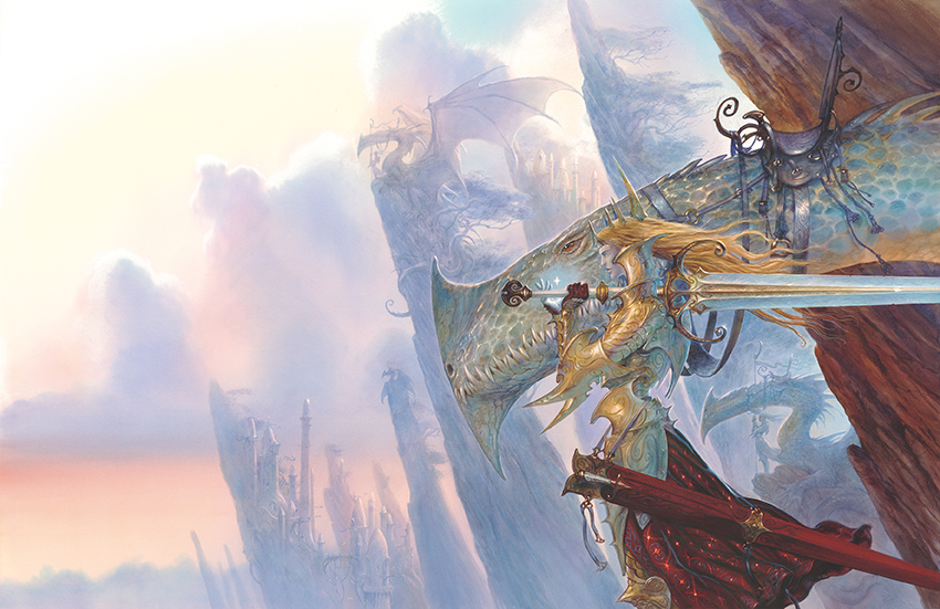 Elves & Dragons originally published by Cry Havoc_Rackham Confrontation