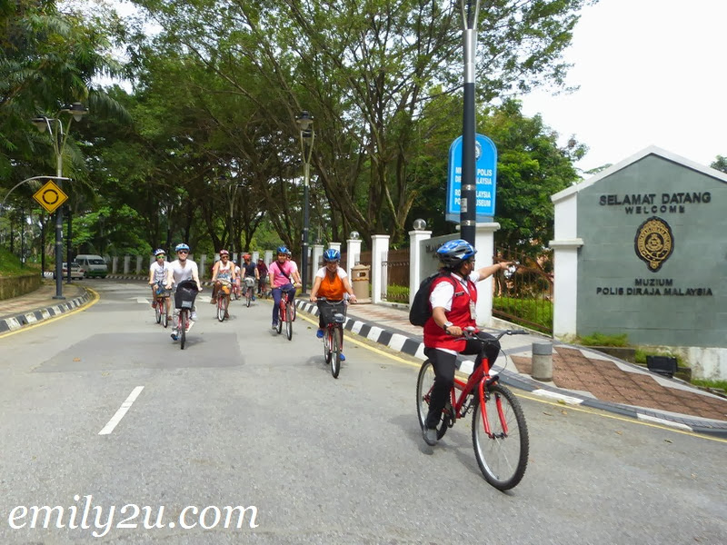 Kuala Lumpur by Tram or Bike From Emily To You