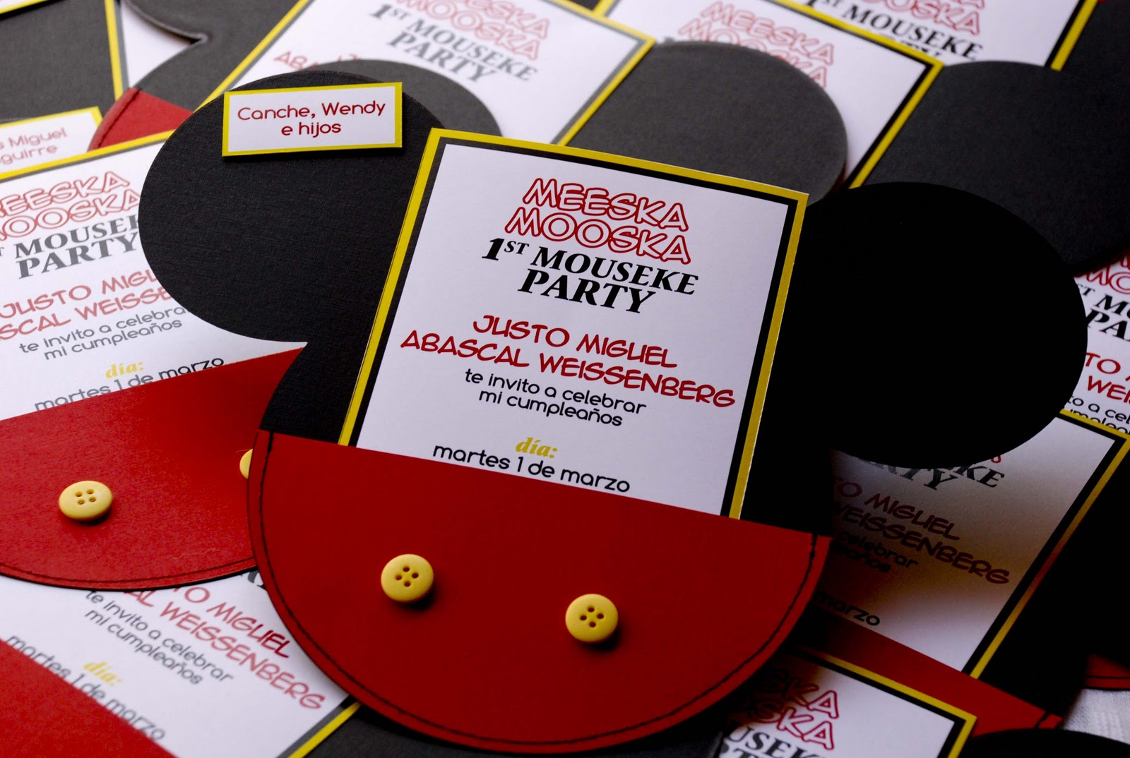 Invitation Mickey Mouse Clubhouse as perfect invitations example