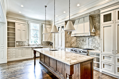 This Is A Great Looking Aluminum And Stainless Hood..works Beautifully In  This Kitchen