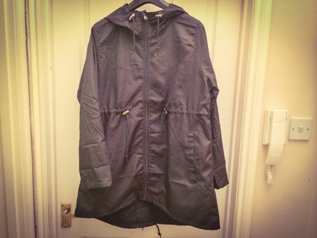 Primark-haul-waterproof-jacket