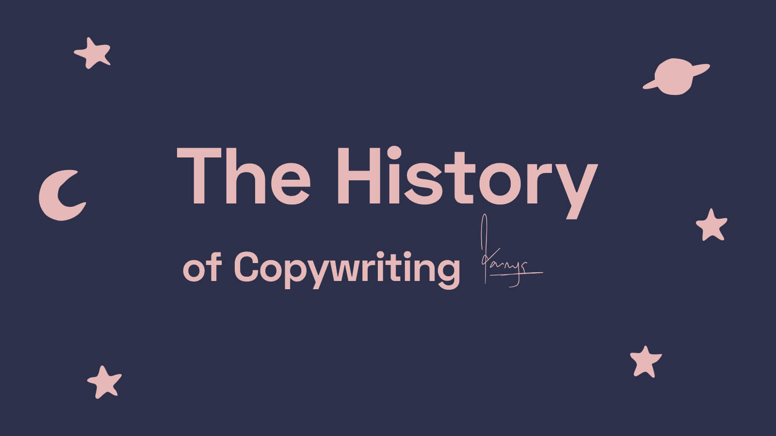 Sejarah Copywriting