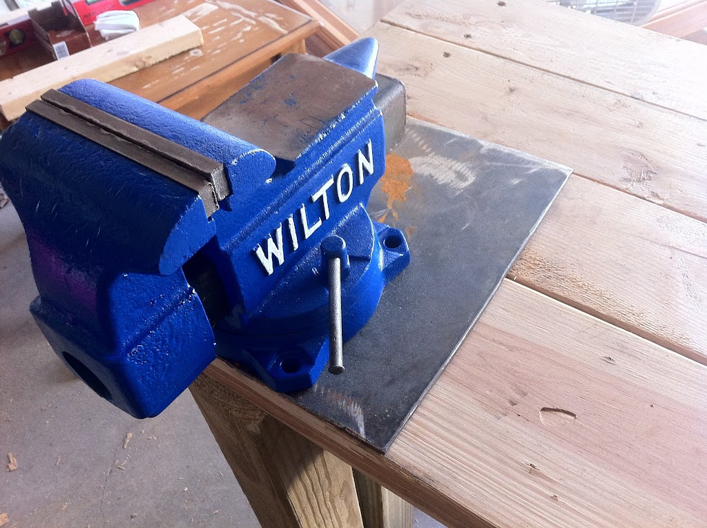 Proper Way To Mount A Vise The Garage Journal Board