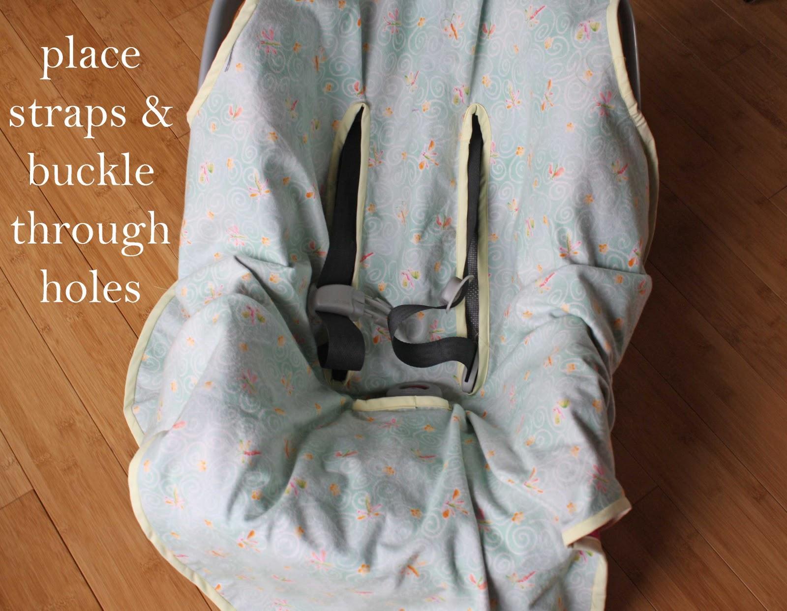 Running With Scissors: Car Seat Blanket
