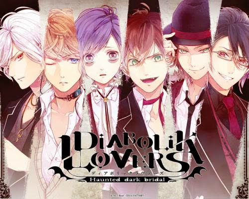 Upcoming Reverse Harem Anime Diabolik Lovers Haunted Dark Bridal