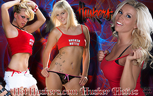 Hot Huskers Blonde Bombshells Wallpaper